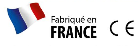 logos fabriqué en France