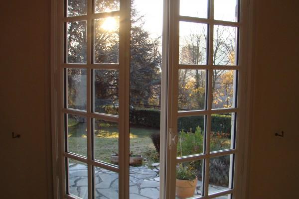 fenêtre bois 2 vantaux