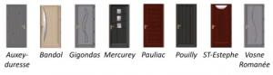 modele portes contemporaine