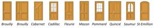 modeles portes traditionnelles
